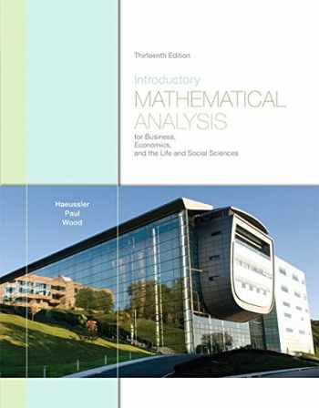 9780321643728-0321643720-Introductory Mathematical Analysis for Business, Economics, and the Life and Social Sciences (13th Edition)