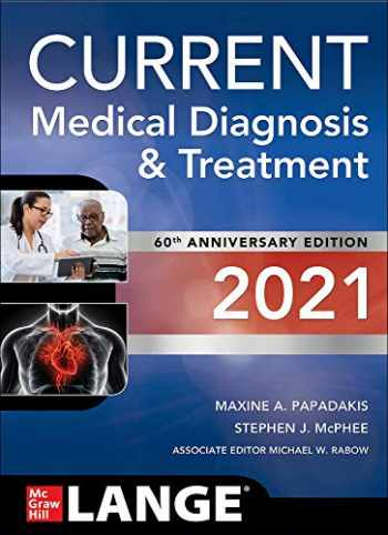 9781260469868-1260469867-CURRENT Medical Diagnosis and Treatment 2021