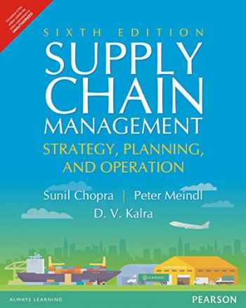 9789332548237-9332548234-Supply Chain Management: Strategy, Planning, and Operation