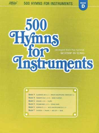 9780834196100-0834196107-500 Hymns for Instruments: Book D, Trombone 1, 2, and 3; String Bass