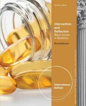9781285071527-1285071522-Intervention and Reflection: Basic Issues in Bioethics, Concise International Edition