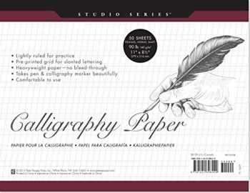 9781441308429-1441308423-Studio Series Calligraphy Paper Pad: 50 Sheets