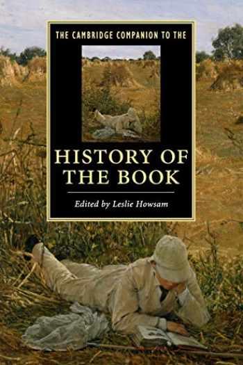9781107625099-1107625092-The Cambridge Companion to the History of the Book (Cambridge Companions to Literature)
