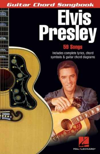 9780634073373-0634073370-Elvis Presley: Guitar Chord Songbook (6 inch. x 9 inch.)