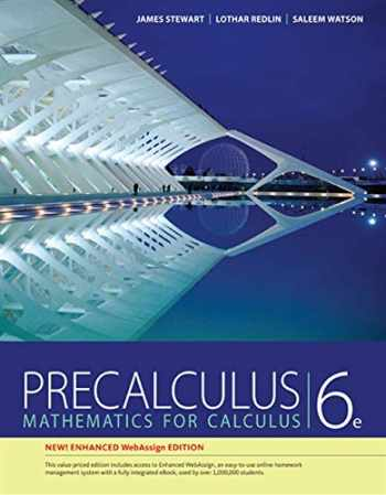 9781305581388-1305581385-Precalculus, WebAssign Edition (with WebAssign Printed Access Card for Pre-Calculus & College Algebra, Single-Term Courses)