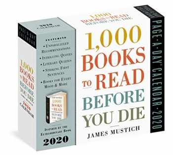 9781523506606-1523506601-1,000 Books to Read Before You Die Page-A-Day Calendar 2020
