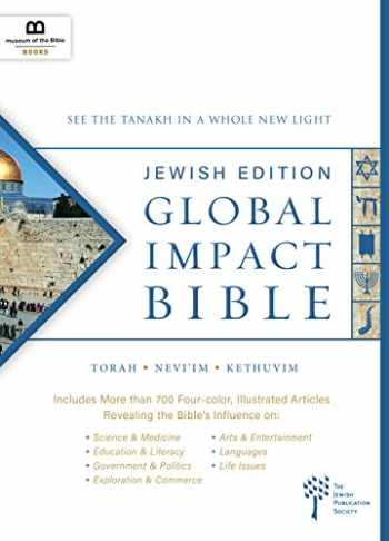 9781945470486-1945470488-Global Impact Bible, JPS Tanakh Jewish Edition: See the Bible in a Whole New Light