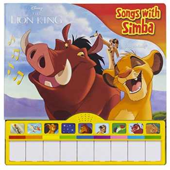 9781503745902-1503745902-Disney The Lion King - Songs with Simba Piano Songbook with Built-In Keyboard - PI Kids