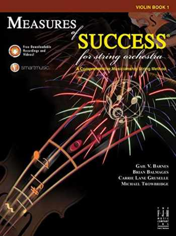 9781619280892-1619280892-Measures of Success for String Orchestra Violin Book 1