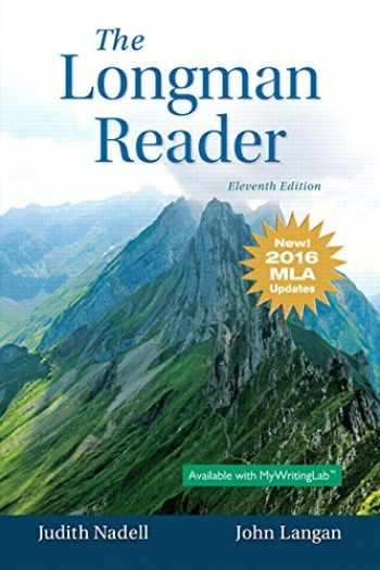 9780134586434-0134586433-Longman Reader, The, MLA Update Edition (11th Edition)