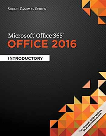 9781305870017-1305870018-Shelly Cashman Series Microsoft Office 365 & Office 2016: Introductory