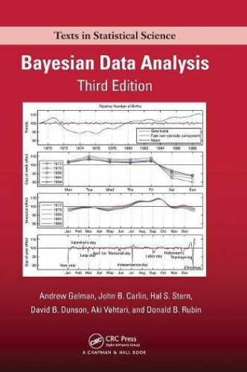 9781439840955-1439840954-Bayesian Data Analysis (Chapman & Hall/CRC Texts in Statistical Science)