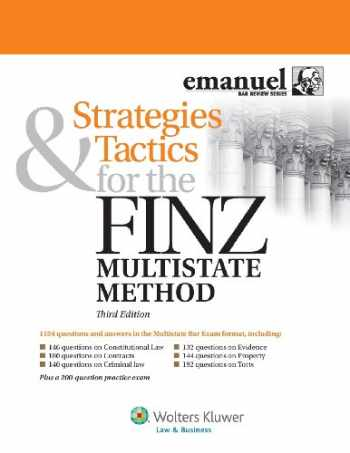 9781454825067-1454825065-Strategies & Tactics for the Finz Multistate Method, Third Edition (Emmanuel Bar Review)