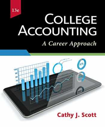9781337280563-1337280569-College Accounting: A Career Approach (with QuickBooks Online)