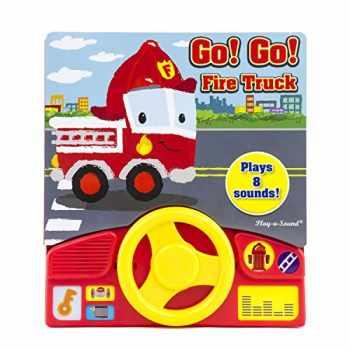 9781503713758-150371375X-Go! Go! Fire Truck Little Steering Wheel - Play-a-Sound - PI Kids