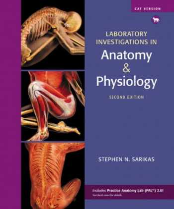 9780321575609-0321575601-Laboratory Investigations in Anatomy & Physiology, Cat Version (2nd Edition)