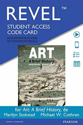 9780133897784-0133897788-Revel for Art: A Brief History -- Access Card (6th Edition)