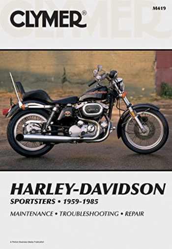 9780892871261-0892871261-Clymer Harley-Davidson Sportsters 1959-1985: Service, Repair, Maintenance (Clymer Motorcycle)
