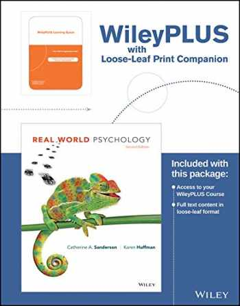 9781119277996-111927799X-Real World Psychology 2nd Edition WileyPLUS Card