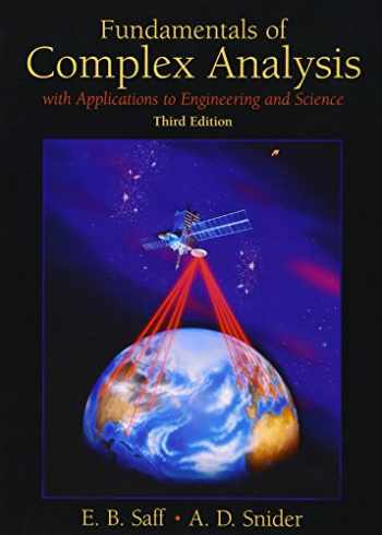 9780139078743-0139078746-Fundamentals of Complex Analysis  with Applications to Engineering,  Science, and Mathematics (3rd Edition)