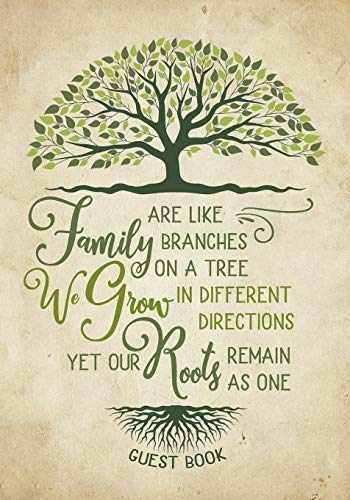 9781099265433-1099265436-Family Reunion Guest Book - Family Roots: Family Get-Together Sign in Book with 200+ Spaces