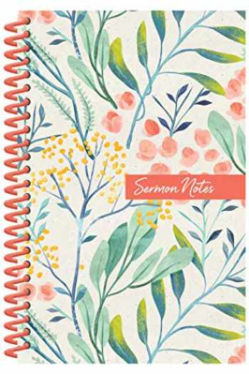 9781643520117-1643520113-Sermon Notes Journal [Floral]