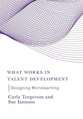 9781950496129-1950496120-Designing Microlearning (What Works in Talent Development)