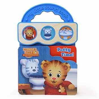 9781680524932-1680524933-Potty Time! (Daniel Tiger's Neighborhood) (Daniel Tiger's Neighborhood Interactive Take-Along Children's Sound Book)
