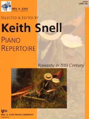 9780849762338-0849762332-GP626 - Piano Repertoire: Romantic & 20th Century, Level 6