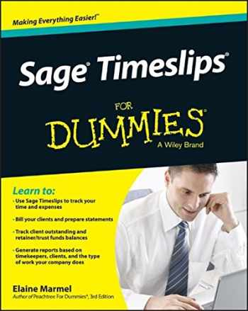 9781118832769-1118832760-Sage Timeslips For Dummies (For Dummies Series)