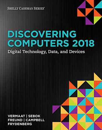 9780357017203-035701720X-Bundle: Discovering Computers ©2018: Digital Technology, Data, and Devices, Loose-leaf Version + MindTap Computing, 1 term (6 months) Printed Access Card for The New Perspectives Collection