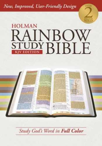 9781586409104-1586409107-Holman Rainbow Study Bible: KJV Edition, Hardcover