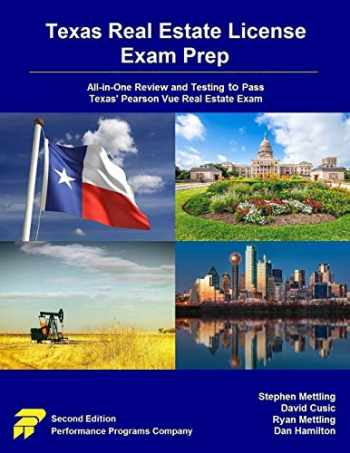 9780915777211-0915777215-Texas Real Estate License Exam Prep: All-in-One Review and Testing to Pass Texas' Pearson Vue Real Estate Exam