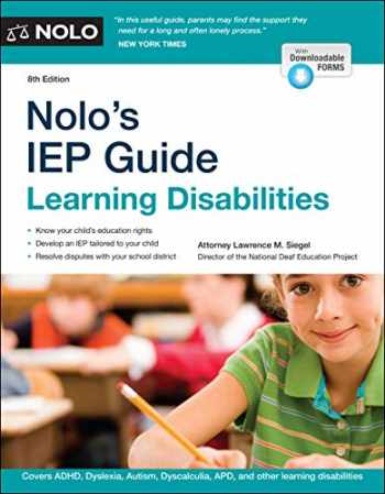 9781413327540-1413327540-Nolo's IEP Guide: Learning Disabilities