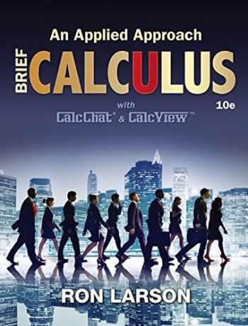 9781305860926-1305860926-Calculus: An Applied Approach, Brief
