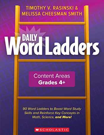 9781338627442-1338627449-Daily Word Ladders: Content Areas, Grades 4 and Up