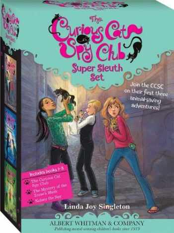 9780807513910-0807513911-The Curious Cat Spy Club Boxed Set #1-3