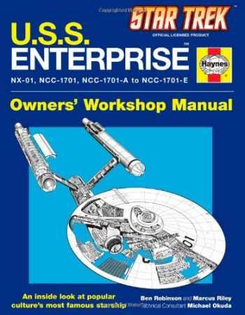 9781451621297-1451621299-U.S.S. Enterprise Haynes Manual (Star Trek)