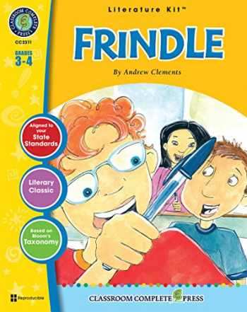 9781553194897-1553194896-Frindle - Novel Study Guide Gr. 3-4 - Classroom Complete Press (Literature Kit)
