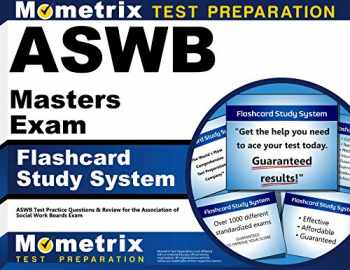 9781609712228-1609712226-ASWB Masters Exam Flashcard Study System: ASWB Test Practice Questions & Review for the Association of Social Work Boards Exam (Cards)