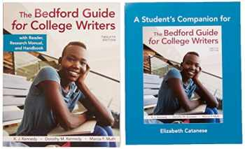 9781319335816-1319335810-The Bedford Guide for College Writers with Reader, Research Manual, and Handbook & A Student's Companion for The Bedford Guide