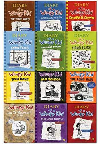 9789123653157-9123653159-Diary Of A Wimpy Kid Collection 12 Books Set By Jeff Kinney