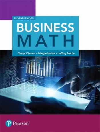 9780134496436-0134496434-Business Math (11th Edition)