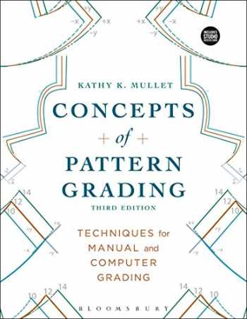 9781501312823-1501312820-Concepts of Pattern Grading: Bundle Book + Studio Access Card