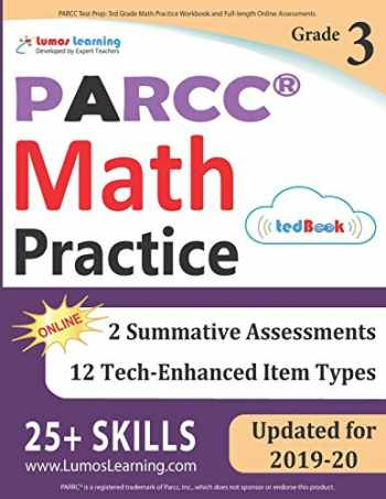 9781946795281-1946795283-PARCC Test Prep: 3rd Grade Math Practice Workbook and Full-length Online Assessments: PARCC Study Guide
