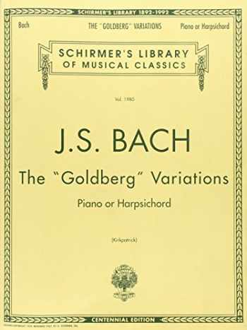 9780793522453-0793522455-Bach: Goldberg Variations: Schirmer Library of Classics Volume 1980 Piano Solo (Schirmer's Library of Musical Classics)