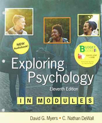 9781319129675-1319129676-Loose-leaf Version for Exploring Psychology in Modules