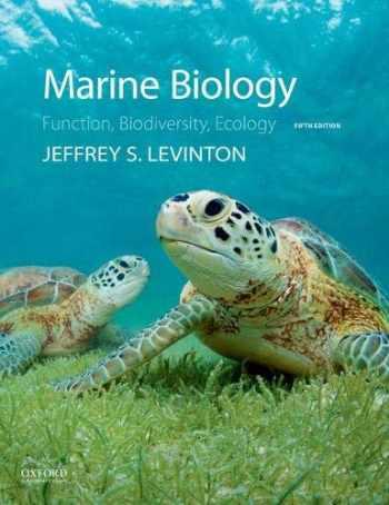 9780190625276-0190625279-Marine Biology: Function, Biodiversity, Ecology