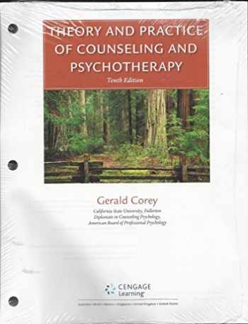 9781305857469-1305857461-Theory and Practice of Counseling and Psychotherapy, Loose-leaf Version