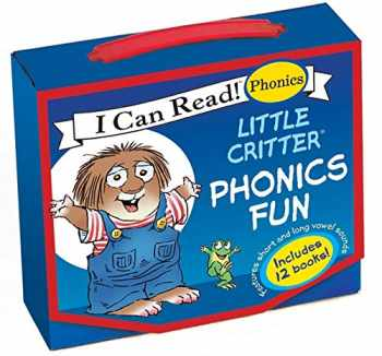 9780061478253-0061478253-Little Critter 12-Book Phonics Fun!: Includes 12 Mini-Books Featuring Short and Long Vowel Sounds (My First I Can Read)